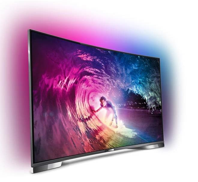 warum curved tv